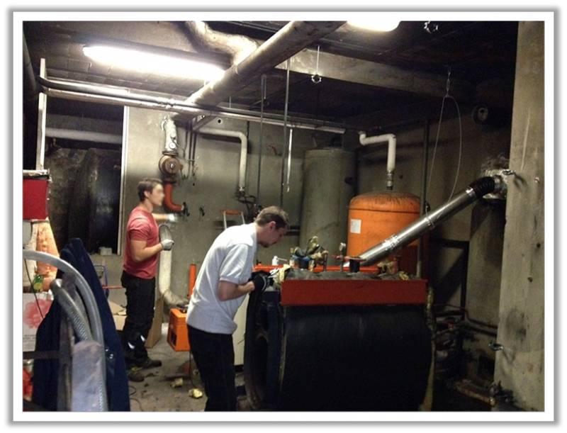 rénovation chaufferie gaz